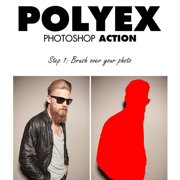 PolyEx Photoshop Action