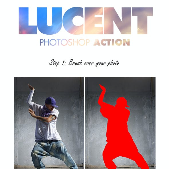 Lucent Photoshop Action