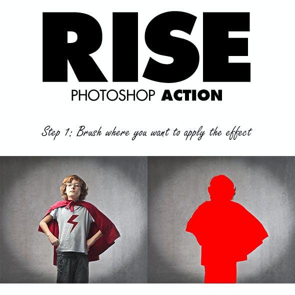 Rise Photoshop Action