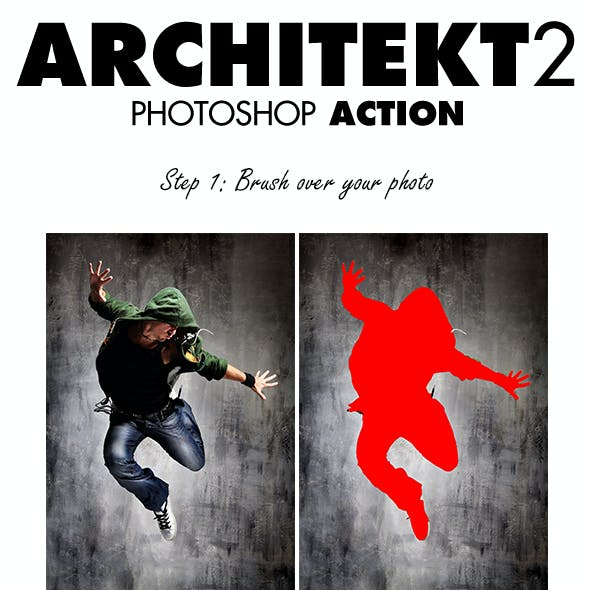 Architekt 2 Photoshop Action
