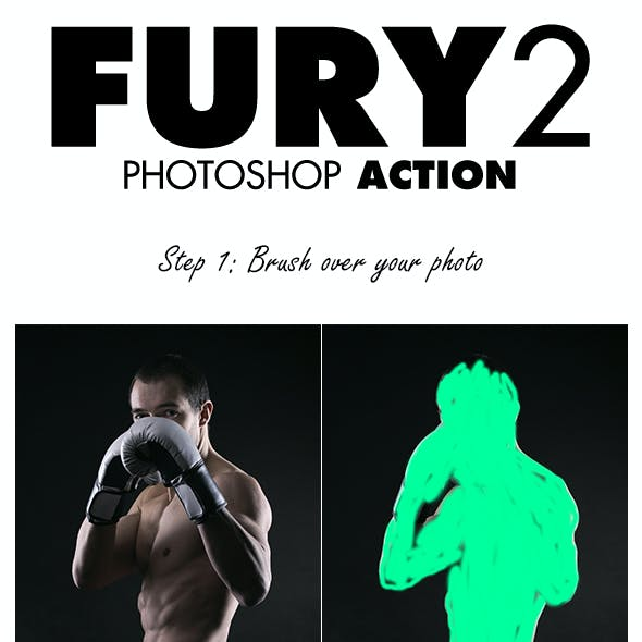 Fury 2 Photoshop Action