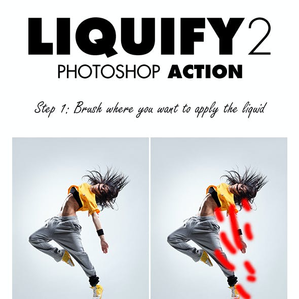Liquify 2 Photoshop Action