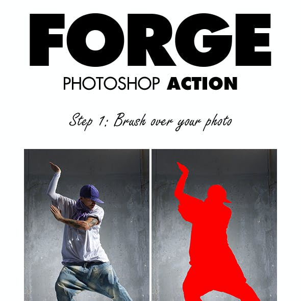 Forge Photoshop Action