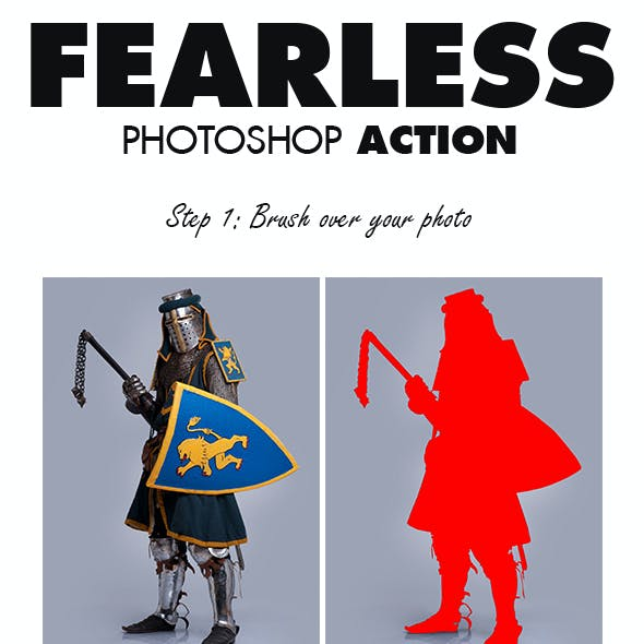 Fearless Photoshop Action