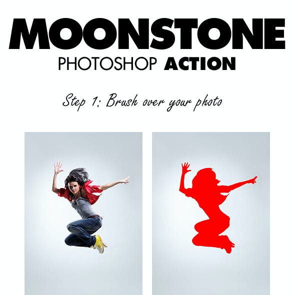 MoonStone Photoshop Action
