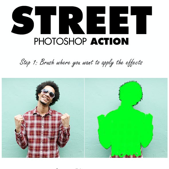 Street Photoshop Action