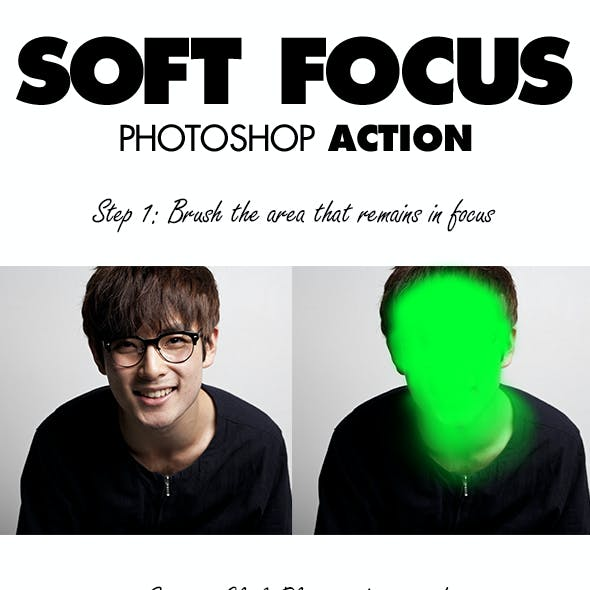 Soft Focus Photoshop Action