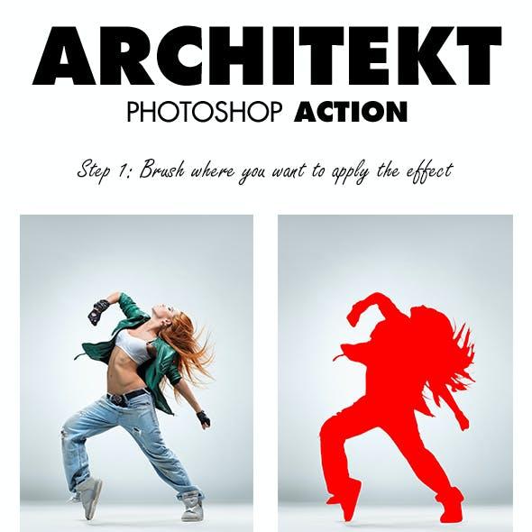 Architekt Photoshop Action