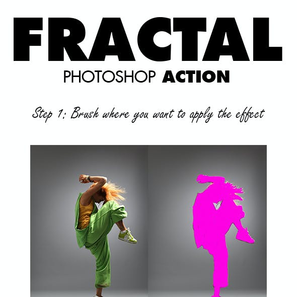 Fractal Photoshop Action