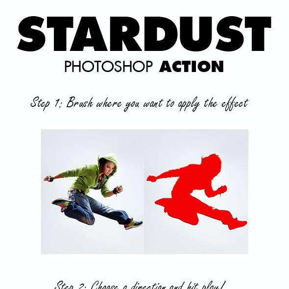 StarDust Photoshop Action