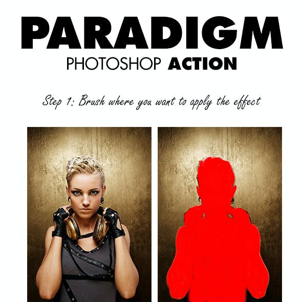 Paradigm Photoshop Action