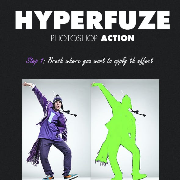 HyperFuze Photoshop Action