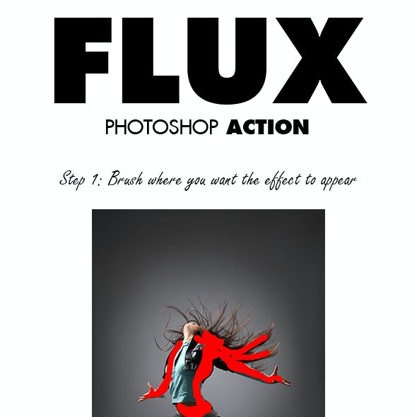 Flux Photoshop Action