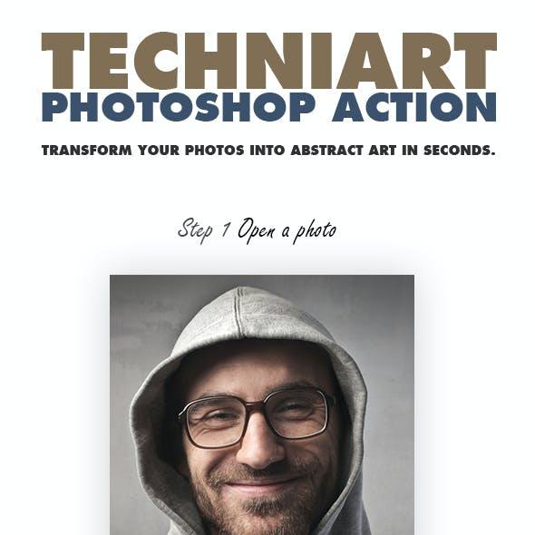 TechniArt Photoshop Action