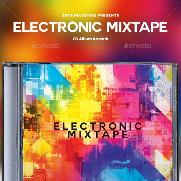 Electronic Mixtape CD Album Artwork