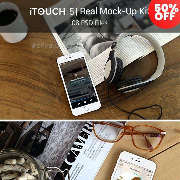 iTouch 5 | 08 Photorealistic MockUp