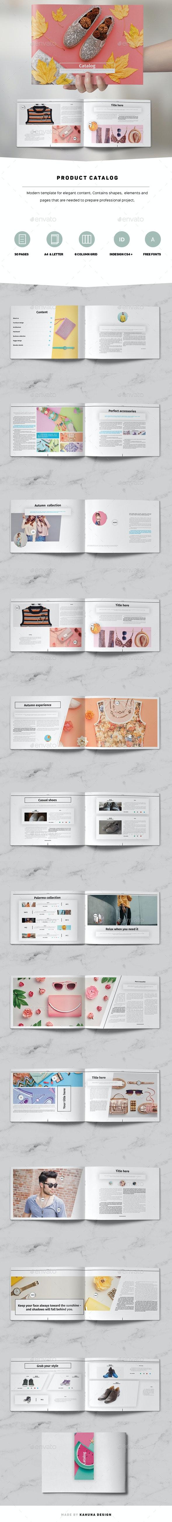 Product Catalog / Brochure  Landscape - Catalogs Brochures