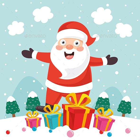 Vector Illustration of Christmas - Christmas Seasons/Holidays