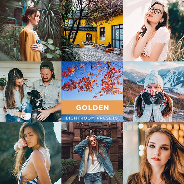 22 Golden Lightroom Presets