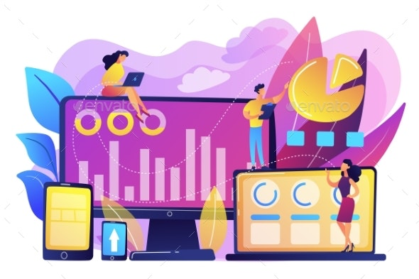 Customer Segmentation Concept Vector Illustration. - Business Conceptual