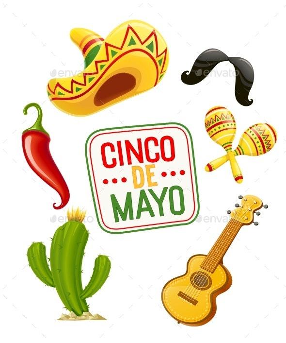 Cinco De Mayo Set - Miscellaneous Seasons/Holidays