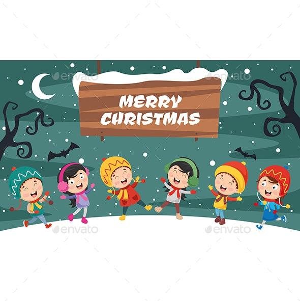 Vector Illustration Of Christmas And  New Year Design - Christmas Seasons/Holidays