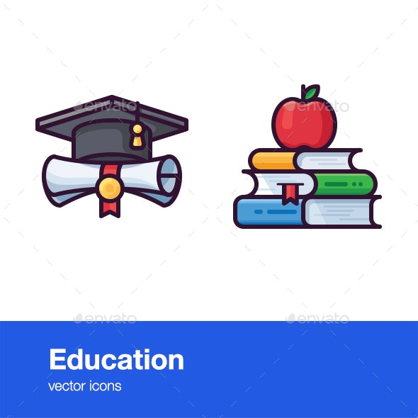 Education Icons - Icons