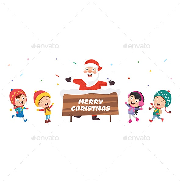 Vector Illustration Of Christmas And  New Year Design - Christmas Seasons/Holidays