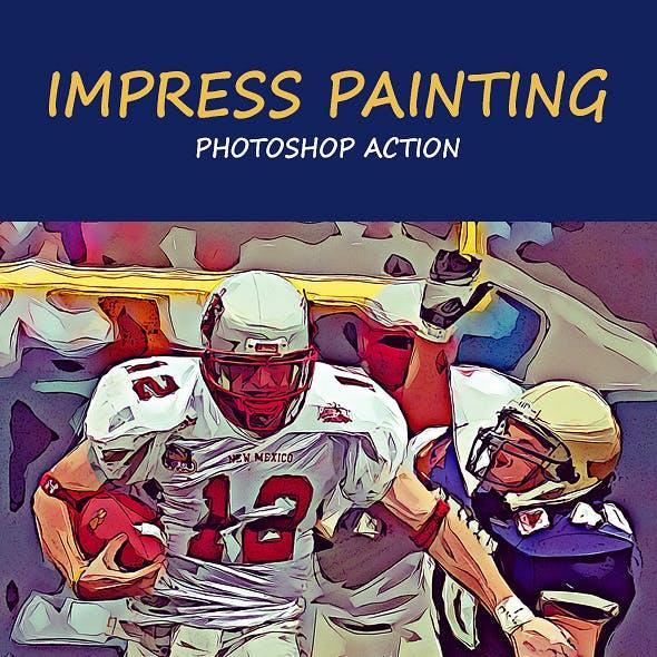 Impress Painting