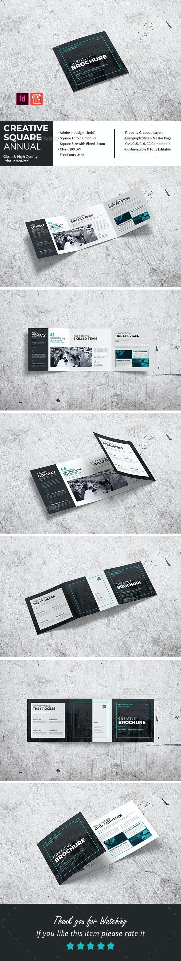 Creative Square Annual Tri-Fold - Corporate Brochures
