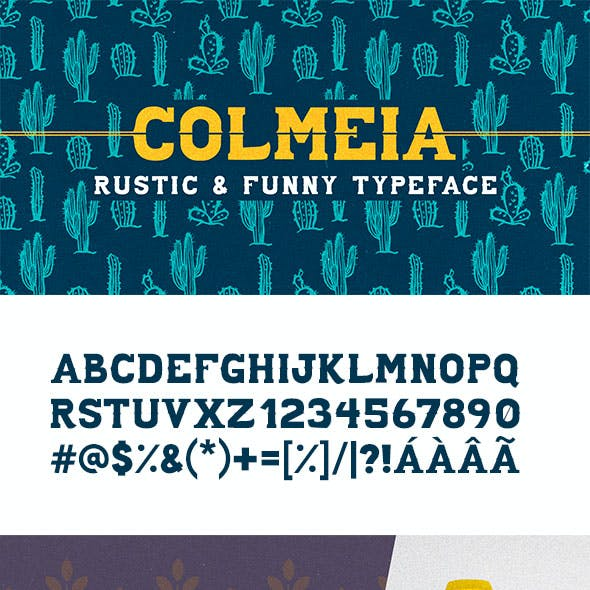 Colmeia Typeface