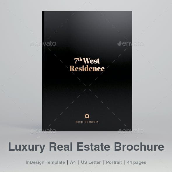 Luxury Real Estate Brochure 44 pages