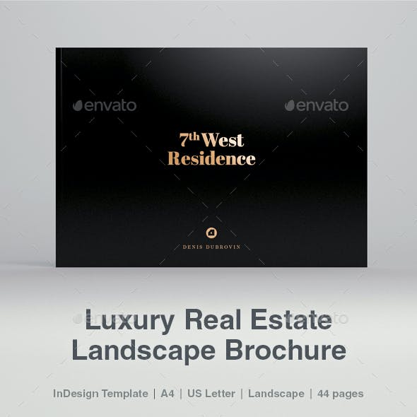Luxury Landscape Real Estate Brochure 44 pages