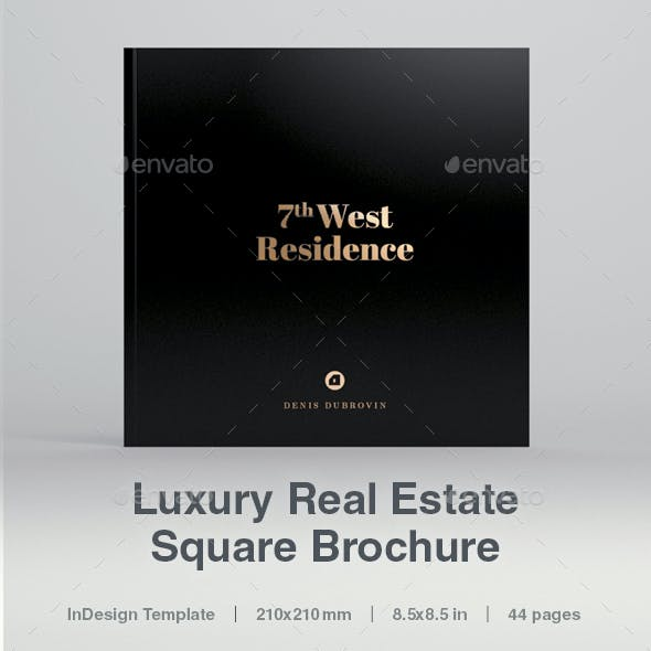 Luxury Square Real Estate Brochure 44 pages