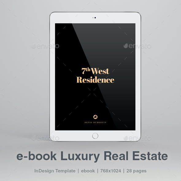 e-book Luxury Real Estate 28 pages