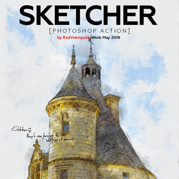 Sketcher Photoshop Action