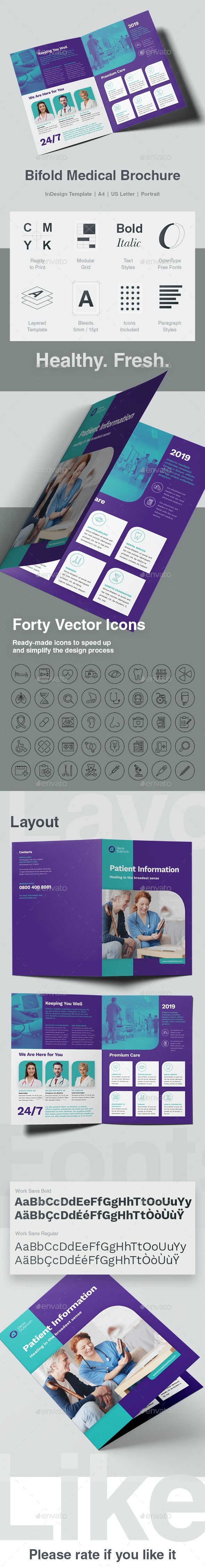 Bifold Medical Brochure - Informational Brochures