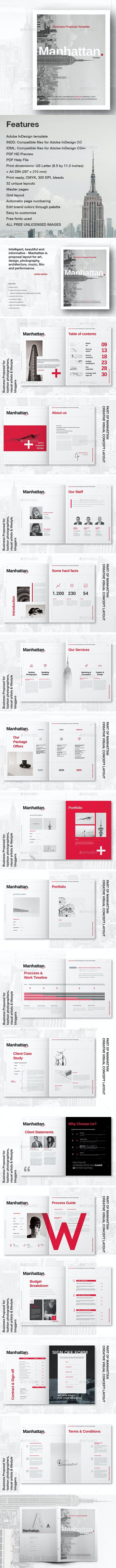 Manhattan Business Proposal - Corporate Brochures