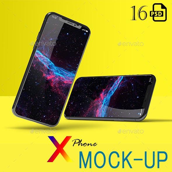 New Phone X Mockup