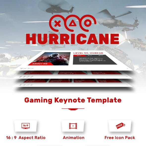 Hurricane Keynote Template