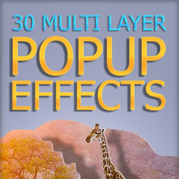 30 Multi Layer Popup Effect