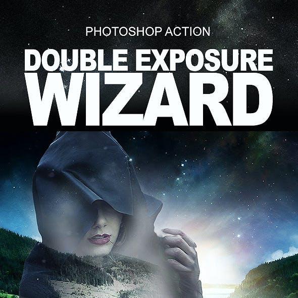 Double Exposure Wizard Action
