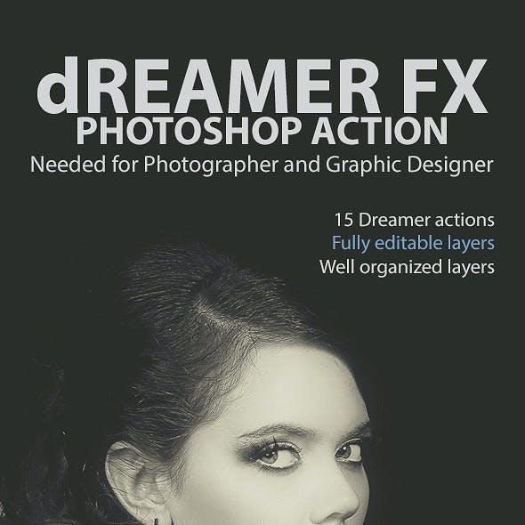 Dreamer FX Photoshop Action