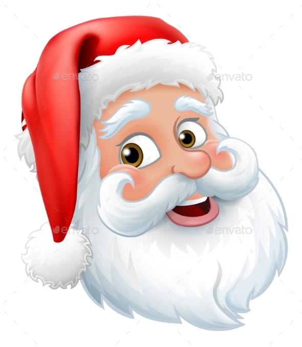 santa claus father christmas cartoon character by krisdog graphicriver https graphicriver net item santa claus father christmas cartoon character 22922091