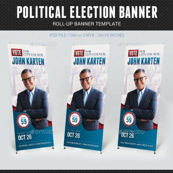 Political Election Banner v3
