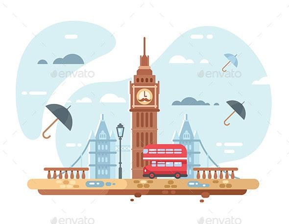 London City Skyline - Miscellaneous Vectors