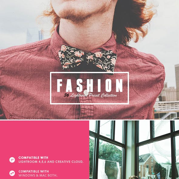 36 Fashion Collection Lightroom Presets