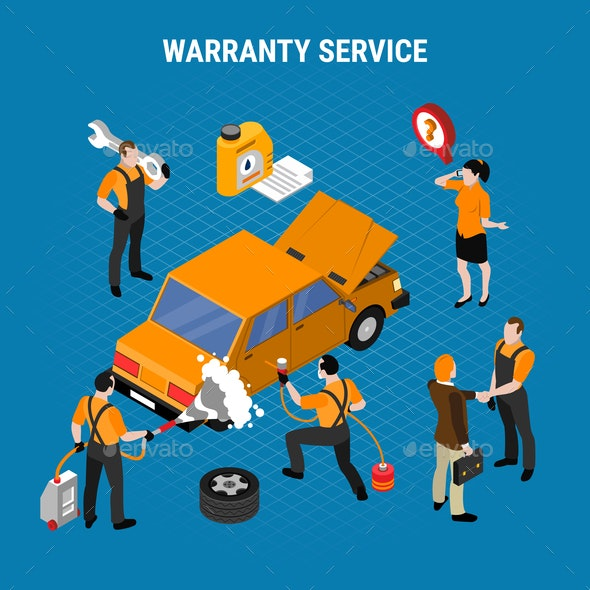 Warranty Service Concept - Services Commercial / Shopping