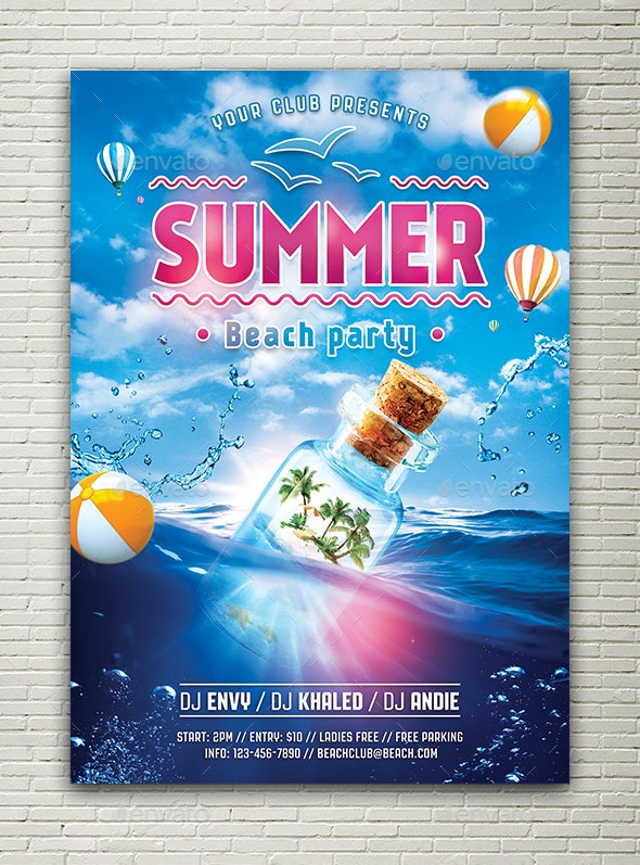 Summer Beach Party - Holidays Events