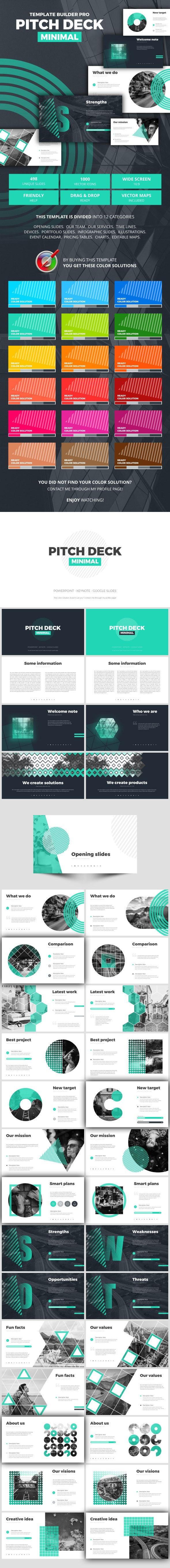 Pitch Deck Minimal - Business Keynote Templates